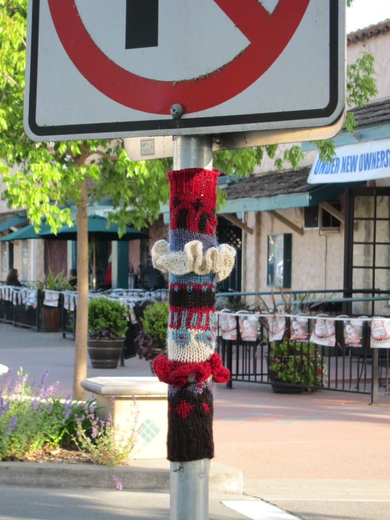 In the center of town (La Plaza and Old Redwood Highway)