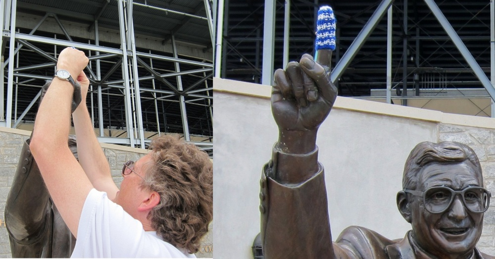 Joe Paterno's Finger Cozy